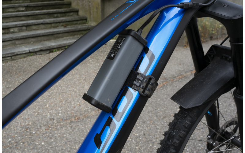 Test Lupine Alpha Bike-Lampe