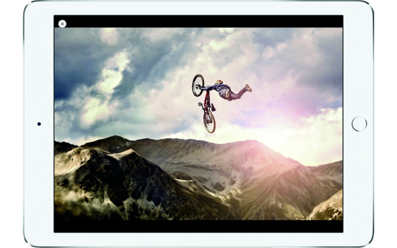 Ride Tablet Portfolio