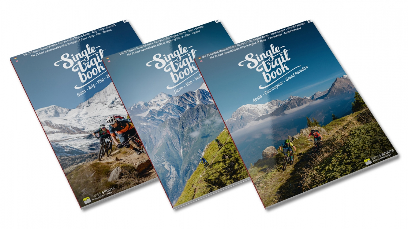 Ride Adventstipp 2018 - Singletrail Book Set Neuerscheinungen