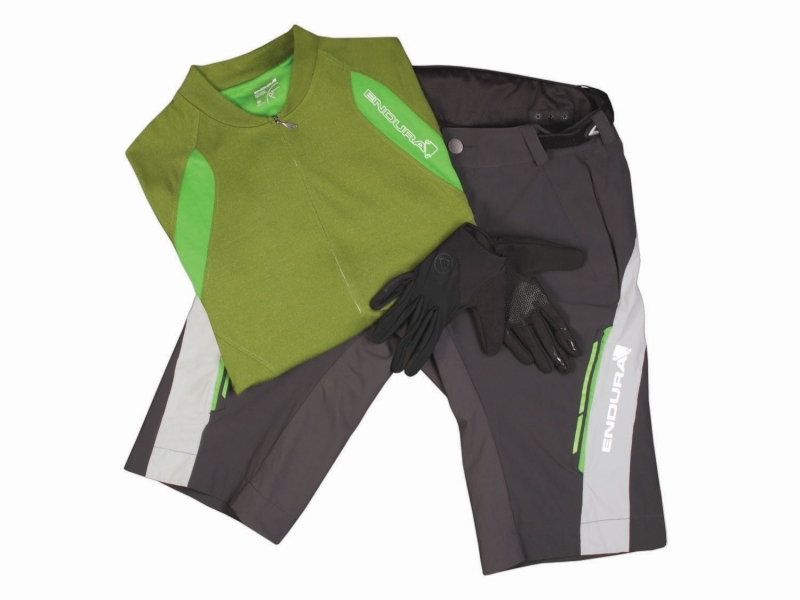 Singletrack Lite Outfit Green