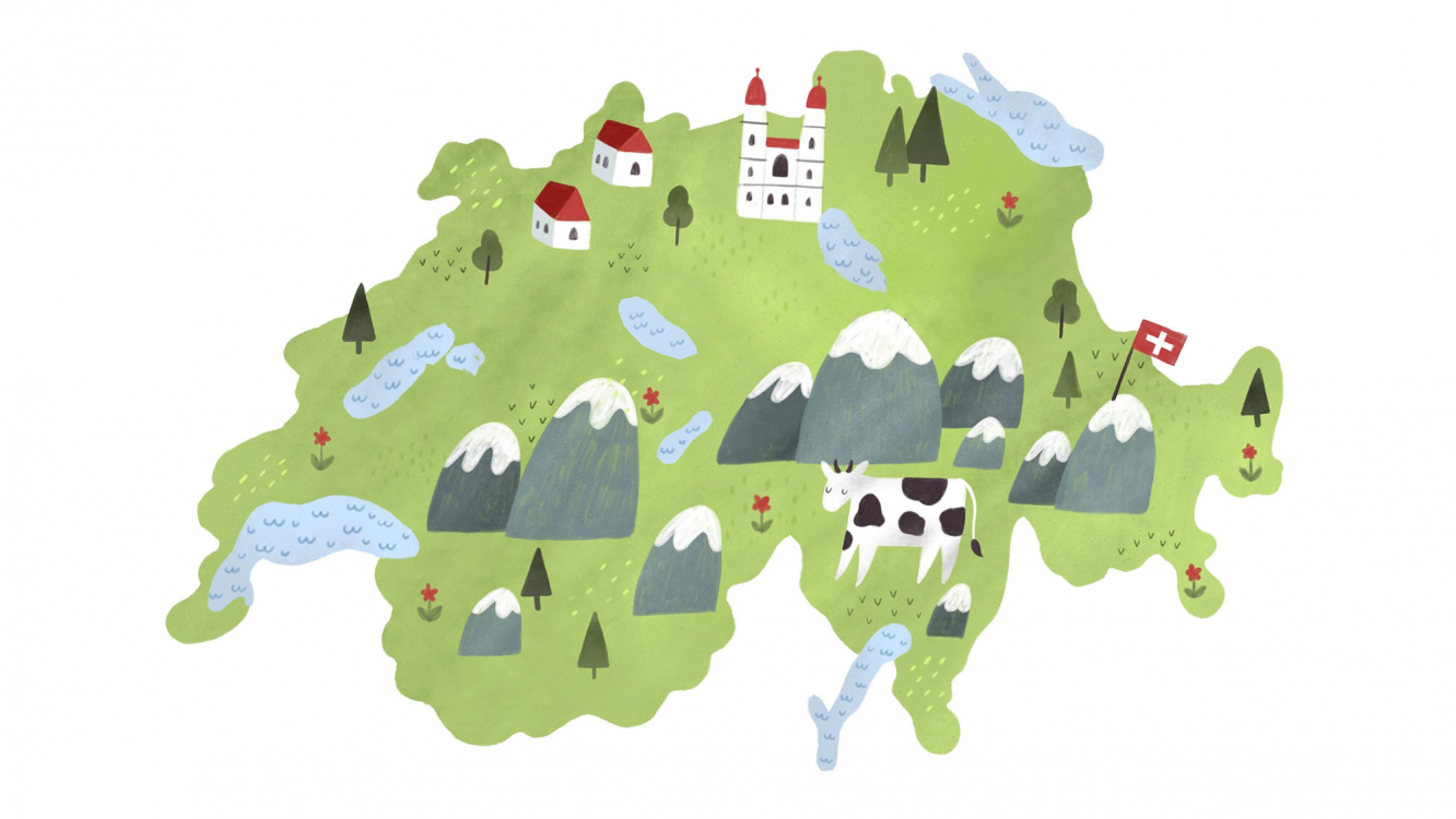 Illustration Schweiz
