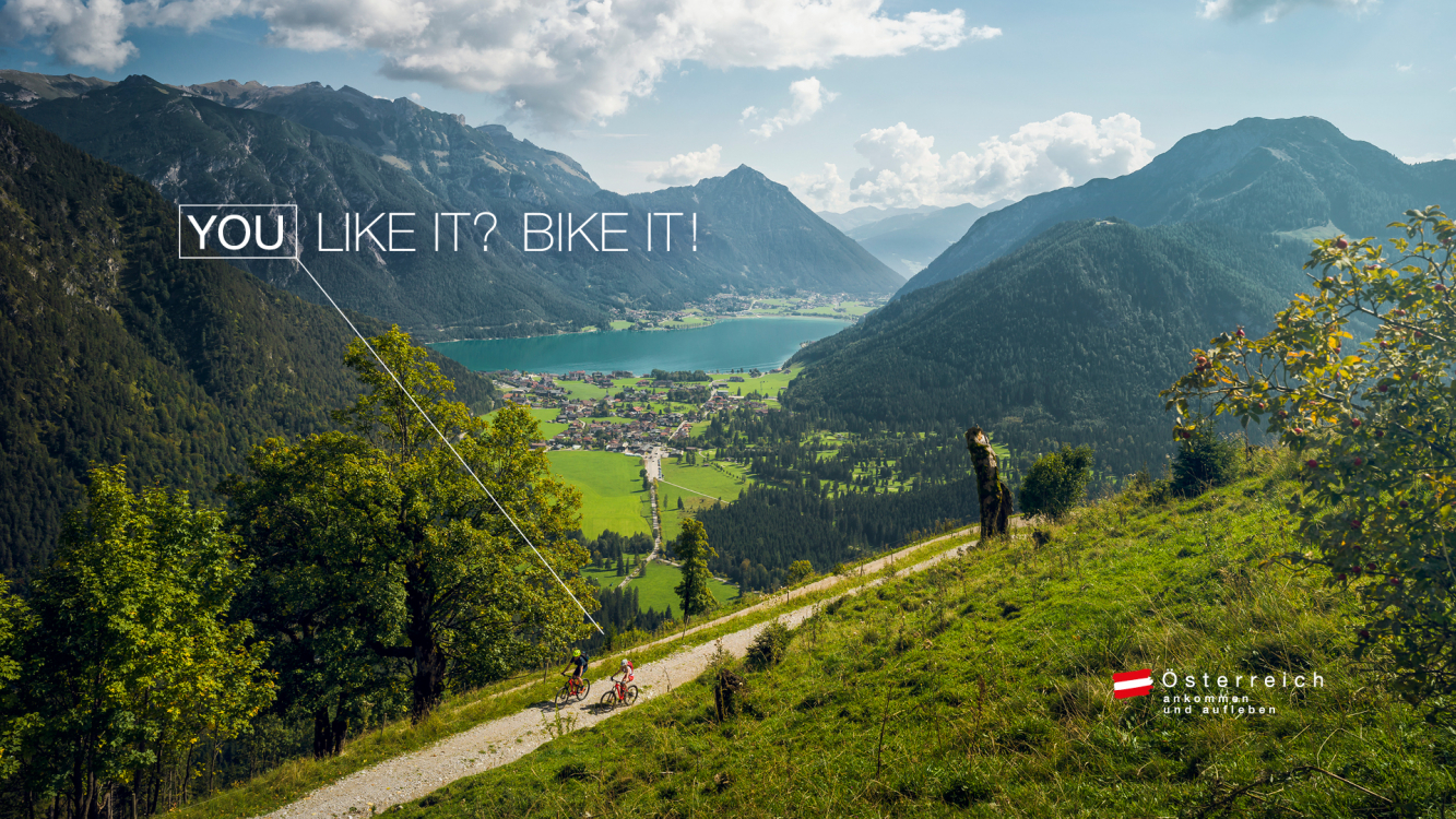 Werbekampagne: You Like it? Bike it!