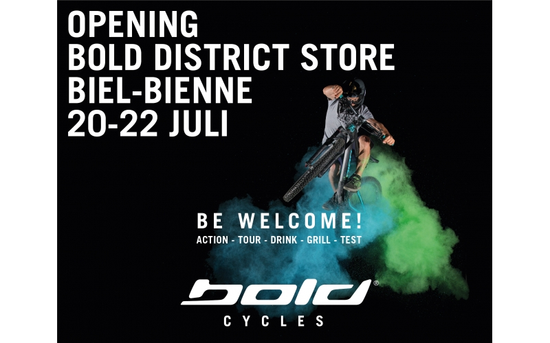 OPENING BOLD DISTRICT STORE UND HEADQUARTER
