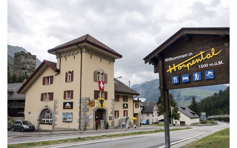 Sust Lodge am Gotthard, Hospental