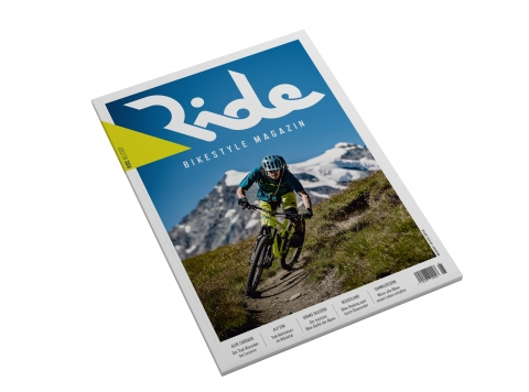 Ride Bikestyle Magazin 01/2017, Cover