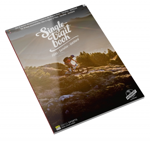 Singletrail Book, Flims - Surselva - Safiental, Cover