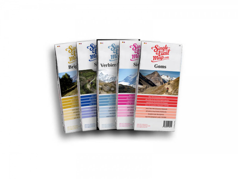 Singletrail Map Set Wallis