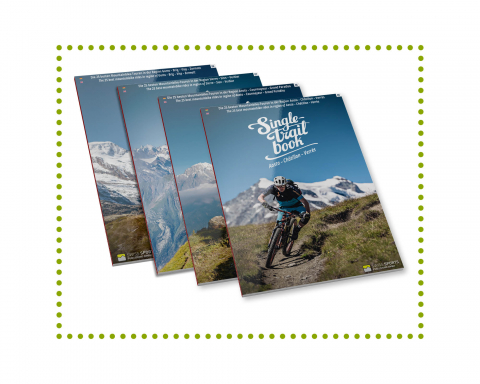 Singletrail Book Set Aosta Wallis