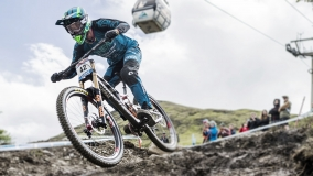 Greg Minnaar gewinnt auf einem 29er-Downhillbike in Fort William