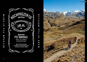 Ride Bikestyle Magazin 02/2017, Tour2, Singletrail-Degustation am Piz Umbrail