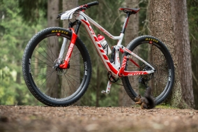 Schurters WM-Bike in Lenzerheide