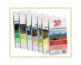 Singletrail Map Set Graubünden