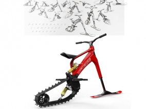 Snow-Ebike von Specialized