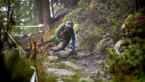 Sturz Enduro World Series Mountainbike