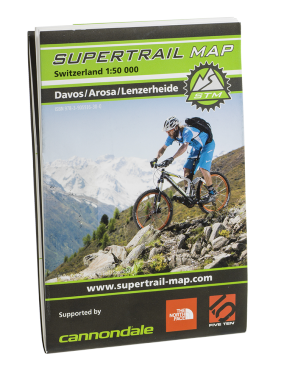 Supertrail Map Davos Arosa Lenzerheide