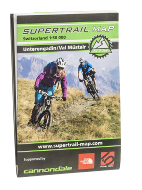 Supertrail Map Unterangdin Val Müstair
