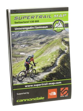 Supertrail Map Unterangdin Samnaun