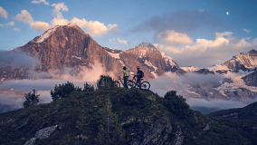 René Wildhaber Roger Schäli Eiger Climb and Bike Mountainbike